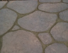 Carved Granite Stamped Concrete