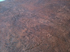 Granite Pattern Stamped Concrete