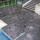 Decorative Stamped Concrete Pool Deck