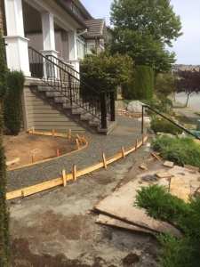 Concrete sidewalk - Abbotsford BC