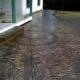 Decorative Colored Concrete with Granite Texture