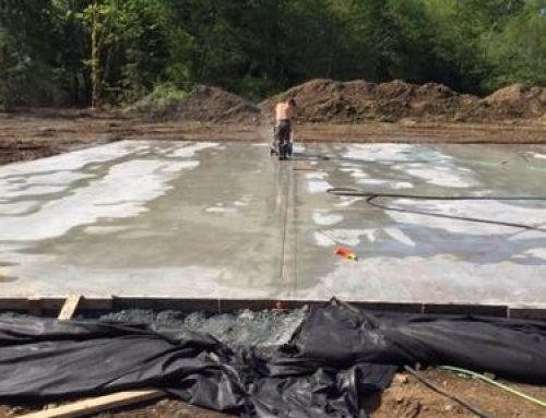 5000' Concrete Slab and Saw Cutting