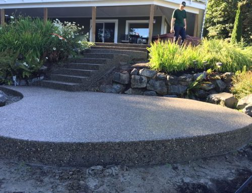 Lake and Pool Concrete Pours This Week