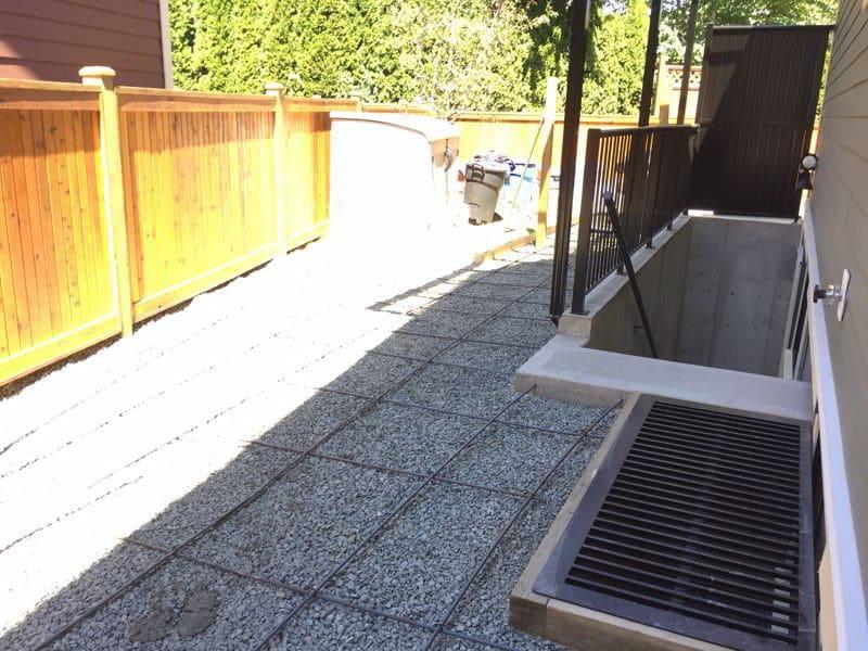 Concrete patio forms Chilliwack BC