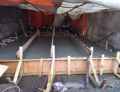 Recent Winter Concrete Projects