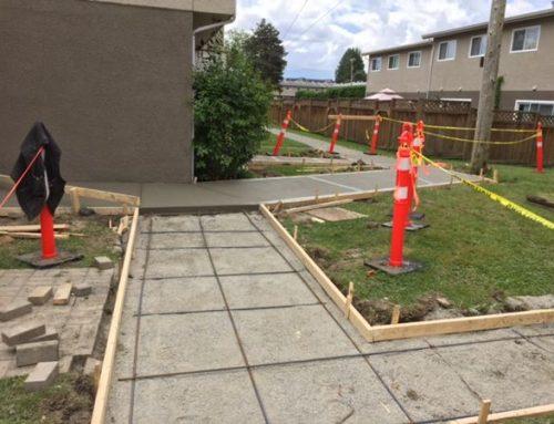Commercial Sidewalk Repair in Chilliwack, BC