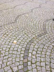 European cobblestone pattern