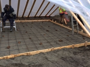 Winter Concrete Contractor in the Fraser Valley